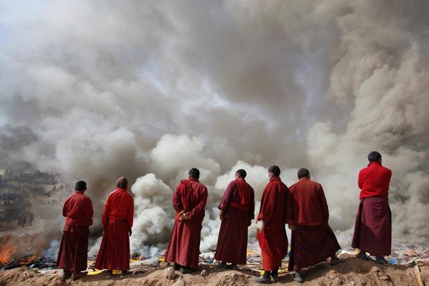 cele cinci ritualuri tibetane